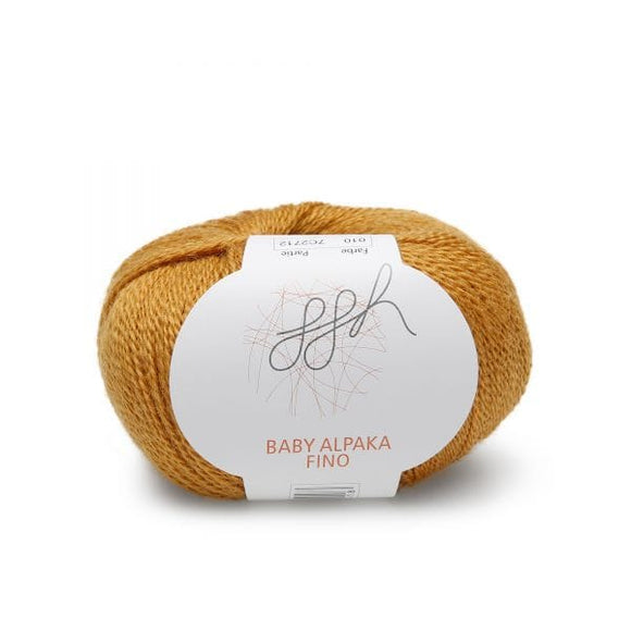 ggh Baby Alpaca Fino 010, curry, 25g - I Wool Knit
