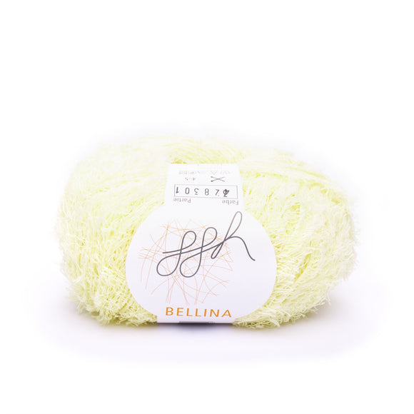 ggh, Bellina 004, pale yellow, Terry Cotton, 8 ply, 50g, - I Wool Knit