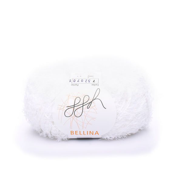 ggh, Bellina 007, White, Terry Cotton, 8 ply, 50g, - I Wool Knit