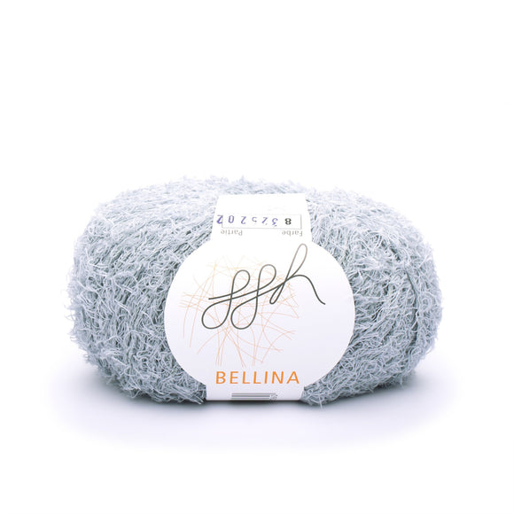 ggh, Bellina 008, pale grey, Terry Cotton, 8 ply, 50g, - I Wool Knit