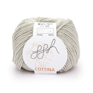 ggh Cottina 011 beige, 100% cotton, 8ply, 50g - I Wool Knit