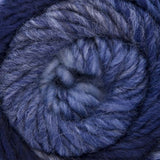 ggh Joker, variegated bulky knitting yarn, blue, I Wool Knit