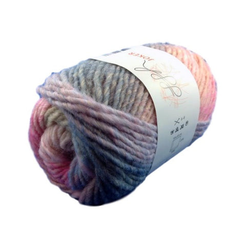 ggh Joker knitting yarn pink-blue, I Wool Knit