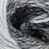 ggh Joker 028, ecru-grey, variegated bulky wool blend, 12ply, 50g - I Wool Knit