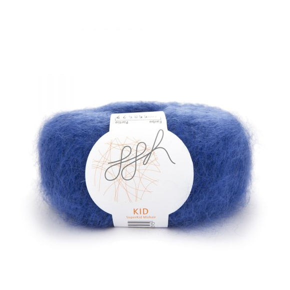 ggh Kid 108, royal blue, super kid mohair, 25g - I Wool Knit