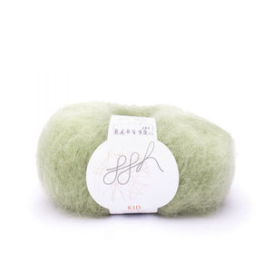 ggh Kid 147, light khaki-green, super kid mohair, 25g - I Wool Knit