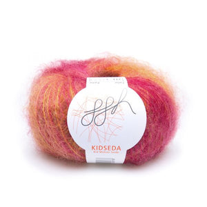 ggh Kidseda 211, shades of amber, mohair-silk, 25g - I Wool Knit