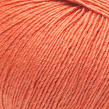 ggh Lacy 026 autumn orange, Merino and silk knitting yarn, 25g - I Wool Knit