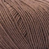 ggh Lacy 018 brown, Merino wool and silk knitting yarn, 25g - I Wool Knit