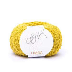 ggh Limba 009, curry, Merino wool bouclé yarn, 50g - I Wool Knit