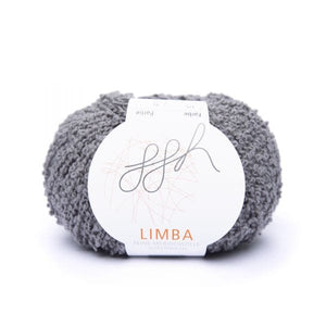 ggh Limba 010, Grey, Merino wool bouclé yarn, 50g - I Wool Knit