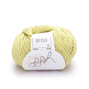 ggh Linova 020, creme, cotton-linen knitting yarn, 50g - I Wool Knit