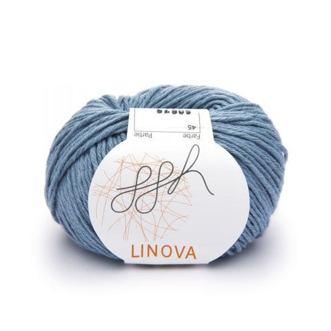 ggh Linova linen and cotton knitting yarn, I Wool Knit