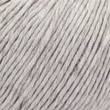 ggh Linova linen-cotton blend knitting yarn for summer light grey, I Wool Knit