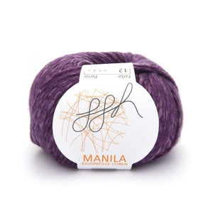 Manila 012, orchid, Cotton, Linen & Viscose blend, 50g, - I Wool Knit - 1