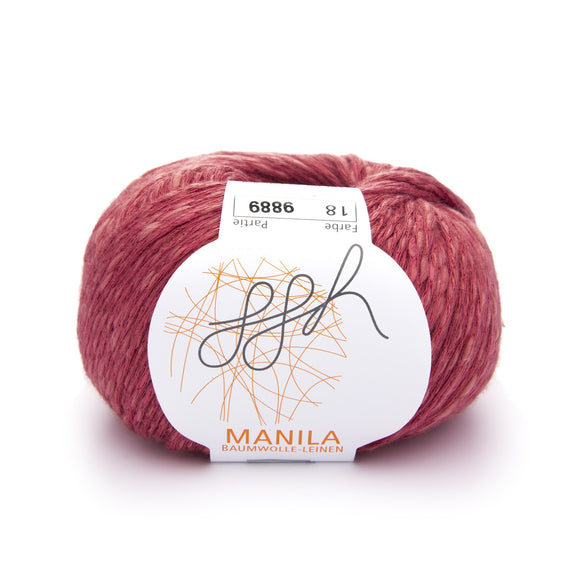 ggh Manila 018, Terracotta, Cotton, Linen & Viscose blend, 50g, - I Wool Knit