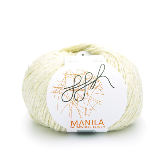 ggh, Manila 024, Vanilla, Cotton, Linen & Viscose blend, 50g, - I Wool Knit
