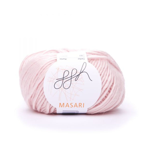 ggh Masari 003 Rosé, Mohair, Merino wool and Silk, 50g - I Wool Knit
