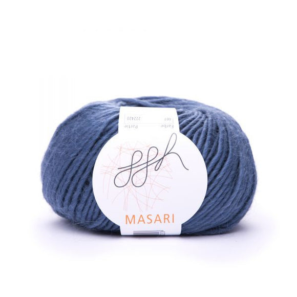 ggh Masari 007 Jeans blue, Mohair, Merino wool and Silk, 50g - I Wool Knit