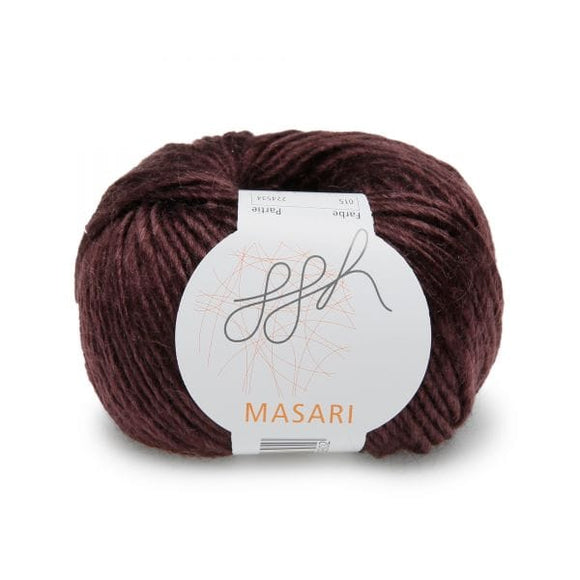ggh Masari 015 Eggplant, Mohair, Merino wool and Silk, 50g - I Wool Knit