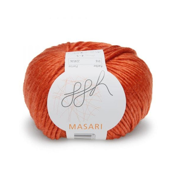 ggh Masari 016 Copper, Mohair, Merino wool and Silk, 50g - I Wool Knit