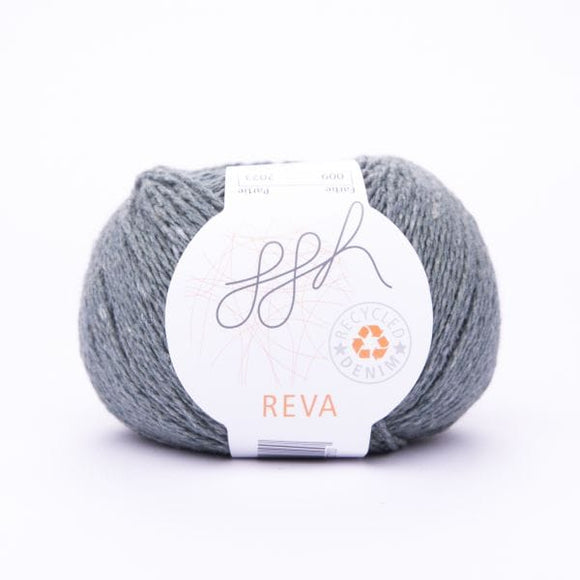 ggh Reva 009 Light Petrol, Recycled Denim Cotton Yarn, 50g - I Wool Knit