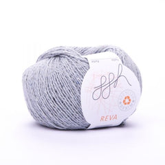 ggh Reva in light grey, recycled denim yarn - I Wool Knit