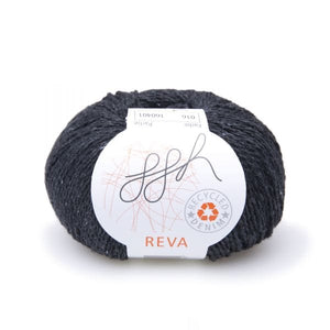 ggh Reva, recycled denim cotton knitting yarn, 8ply - I Wool Knit