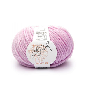 ggh Sportlife 005 pink, superwash wool, 10ply, 50g - I Wool Knit