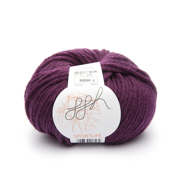ggh Sportlife 007 - 100% superwash wool yarn - I Wool Knit