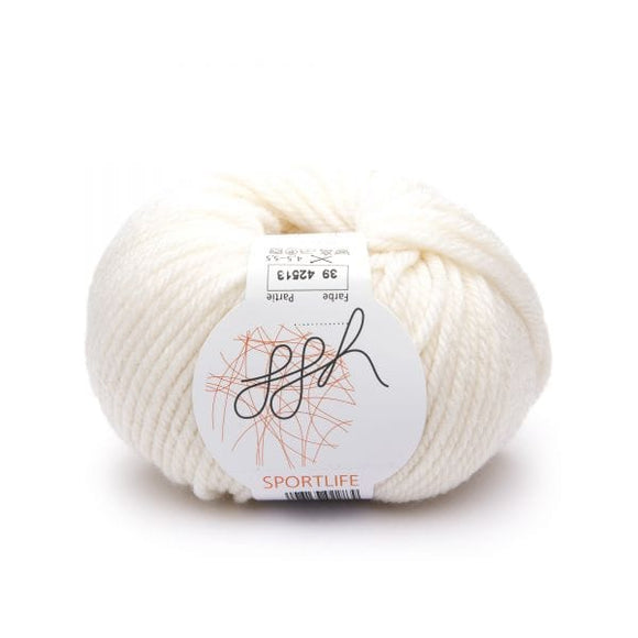 ggh Sportlife 039 white - I Wool Knit