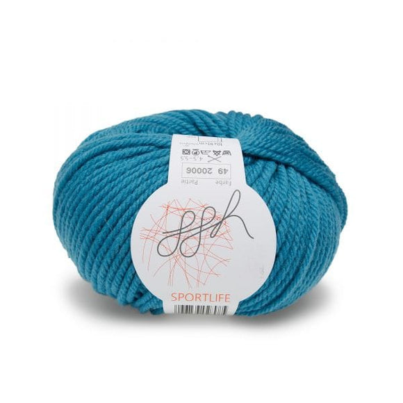 Sportlife 049 turquoise - I Wool Knit
