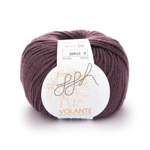 ggh Volante 002 pale eggplant, Merino with cotton, 50g - I Wool Knit