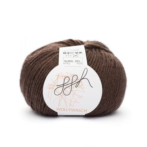ggh Wollywasch 129, chocolate, 8ply, 50g - I Wool Knit