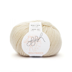 ggh Wollywasch 156, sand,  8ply, 50g - I Wool Knit