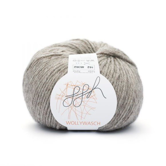 ggh Wollywasch 162, field stone, 8ply, 50g - I Wool Knit