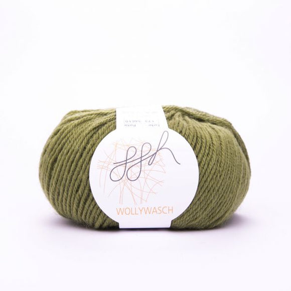 ggh Wollywasch 173, olive,  8ply, 50g - I Wool Knit