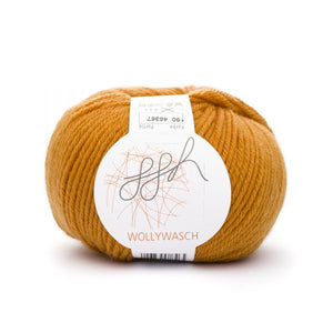 ggh Wollywasch 190, dark gold, 8ply, 50g - I Wool Knit