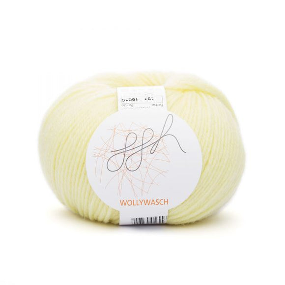 ggh Wollywasch 197, light yellow, 8ply, 50g - I Wool Knit