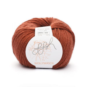 ggh Wollywasch 209, sequoia brown, 8ply, 50g - I Wool Knit