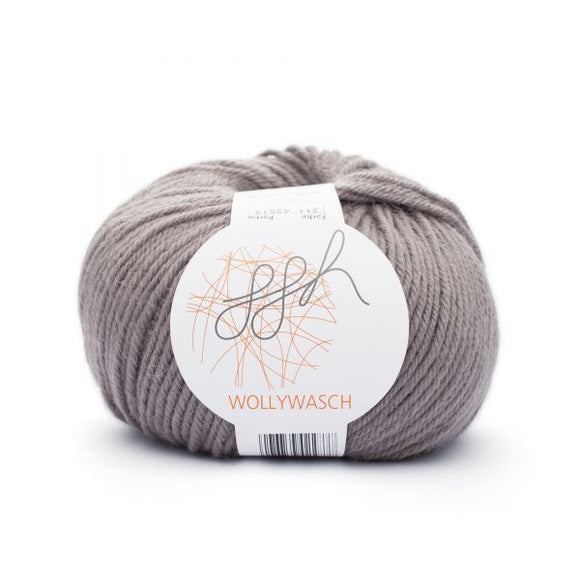 ggh Wollywasch 211, French grey, 8ply, 50g - I Wool Knit