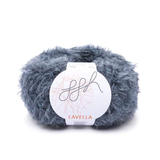 Wide fluffy coat in ggh Lavella - Rebecca Knit Kit