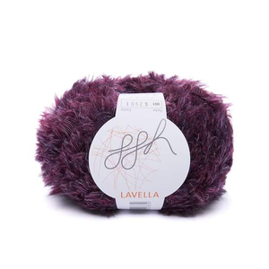 Rebecca Knit Kit for fluffy fur coat in ggh Lavella - I Wool Knit