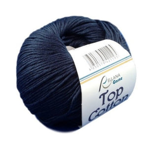 Top Cotton 4, marine blue, 4ply, 50g - I Wool Knit - 1