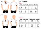 ERA Men White Lycra Polo Tee