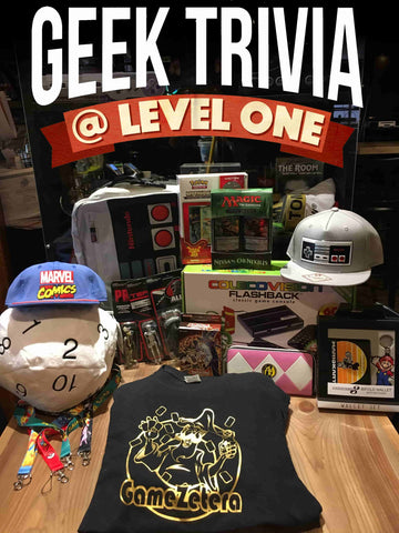 Level One Geek Trivia April 2017
