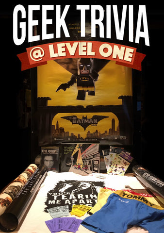 Level One Geek Trivia - Mayfair Theatre