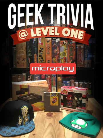 Level One Geek Trivia