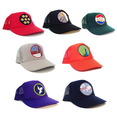 Peacocking Hats