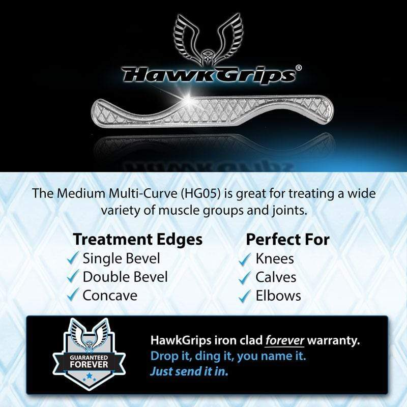 HawkGrips Instruments HG5 - Medium Multi-Curve